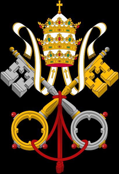 410px-Emblem_of_the_Papacy_SE.svg