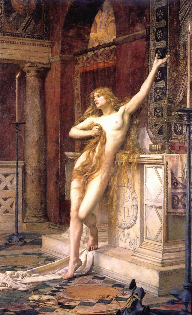 Hypatia_(Charles_William_Mitchell)