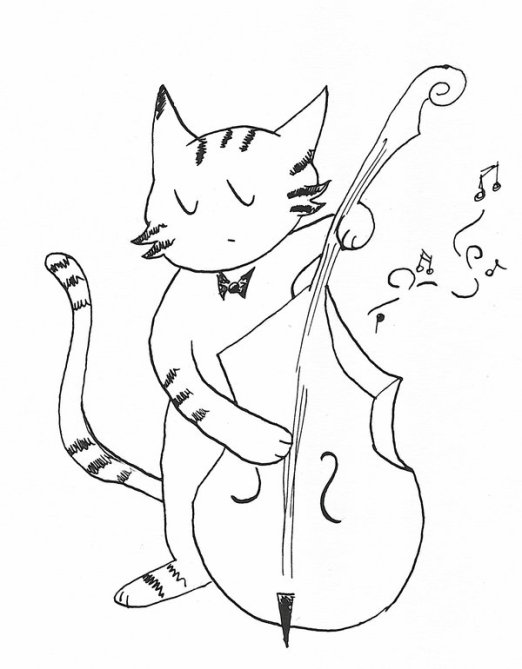 cat_playing_the_bass_by_Kappa89