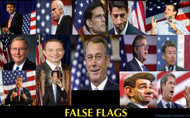 False flags great Misadventure